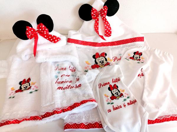 Set Personalizat Prima Baita Minnie Mouse [1]