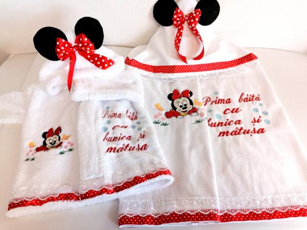 Set Personalizat Prima Baita Minnie Mouse [2]