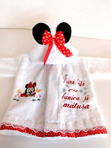 Set Personalizat Prima Baita Minnie Mouse [4]