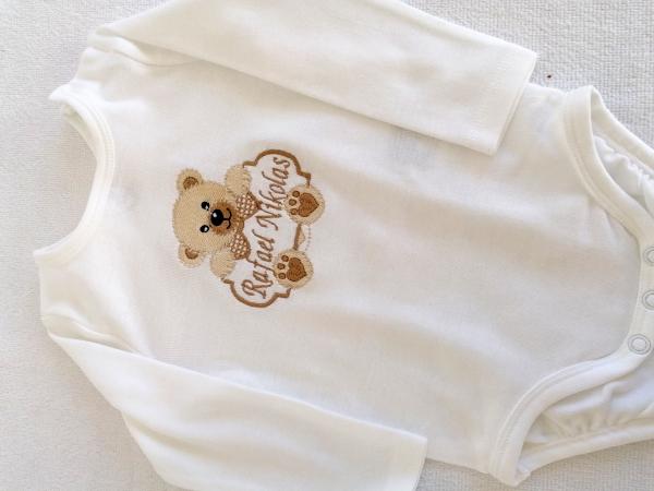 Body Bebe Personalizat Teddy [1]