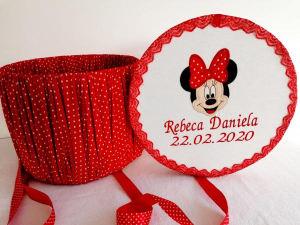 Cutie trusou botez personalizata Minnie Mouse [0]