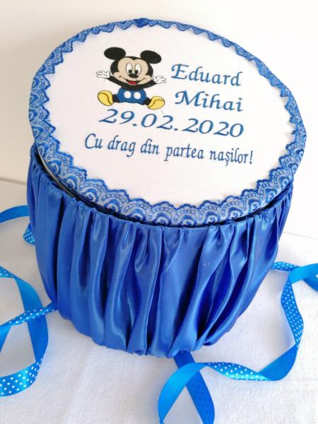 Cutie trusou botez personalizata Mickey Mouse [0]