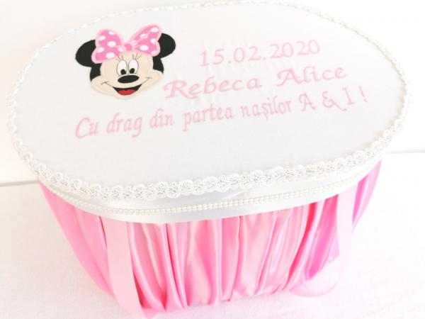 Cutie trusou botez Pink Minnie [0]