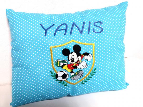 Perna bebe personalizata Mickey Mouse Footballer [0]