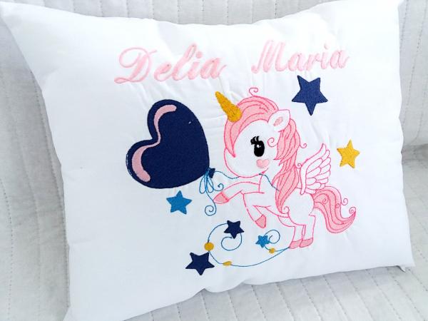 Perna personalizata pentru bebe Unicorn [0]