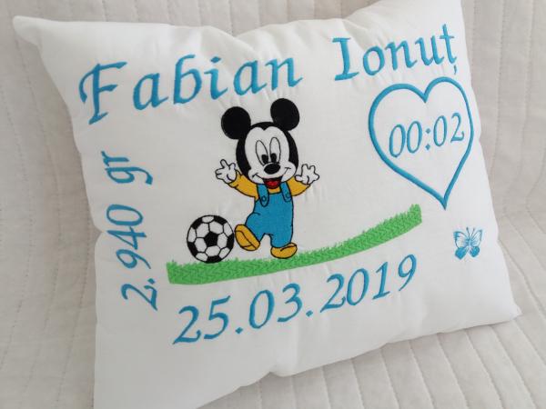 Perna personalizata bebelus Mickey Mouse [1]