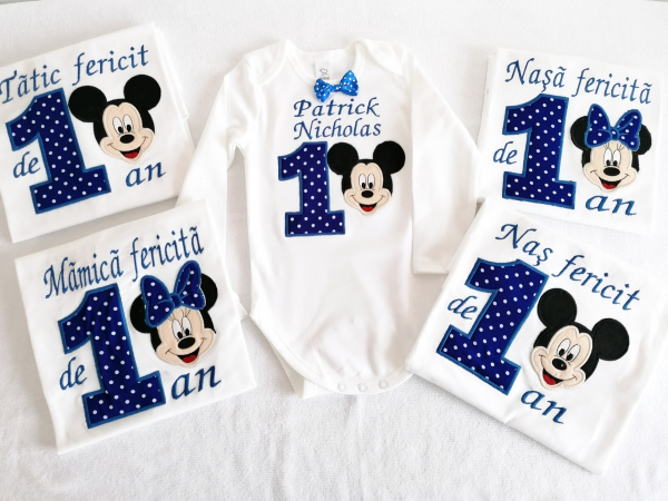Set aniversar 5 piese Mickey Mouse [0]