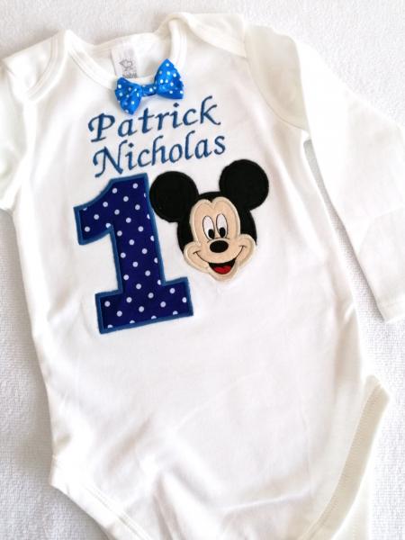 Set aniversar pentru baieti Mickey Mouse [1]