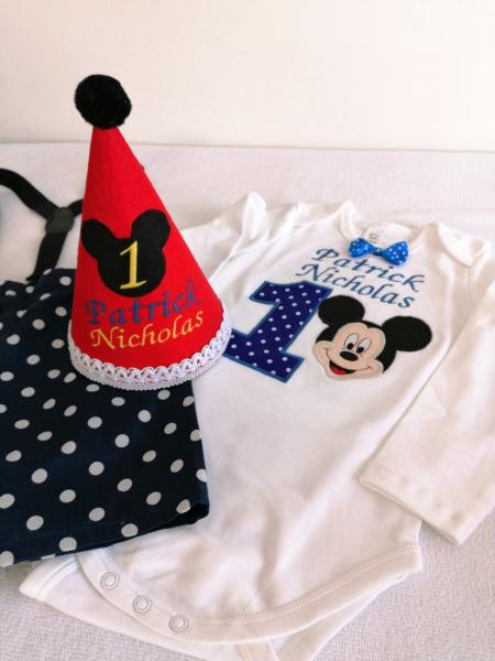 Set aniversar pentru baieti Mickey Mouse [2]