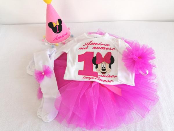 Set aniversar 1 an Minnie Mouse [0]