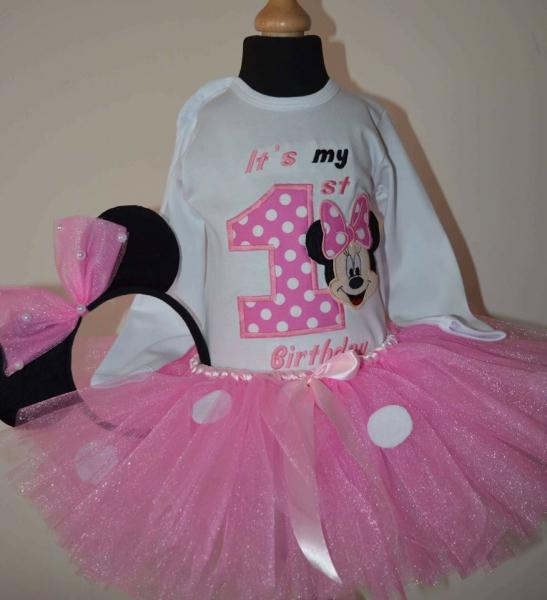 Set TuTu 1 an Pink Minnie [0]