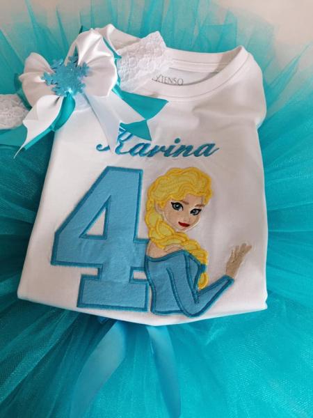 Set aniversar TuTu Elsa [0]