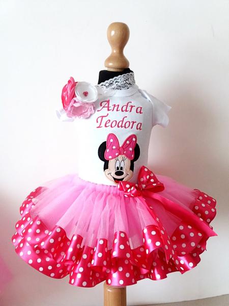 Set TuTu personalizat Minnie Mouse [0]