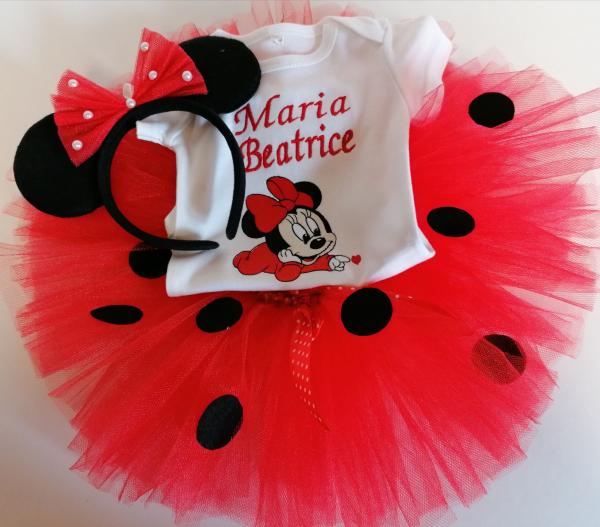 Set TuTu personalizat Minnie Mouse Ladybug [1]