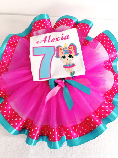 Set tutu aniversar Little Ballerina [1]
