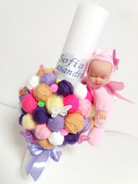 Trusou botez personalizat Fancy Minnie [3]