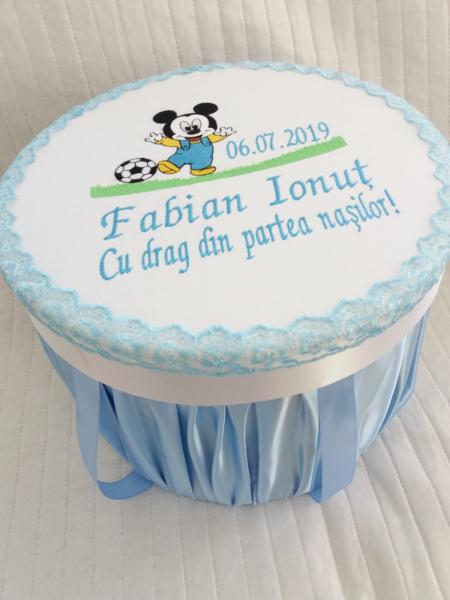 Trusou botez personalizat Mickey Mouse [2]