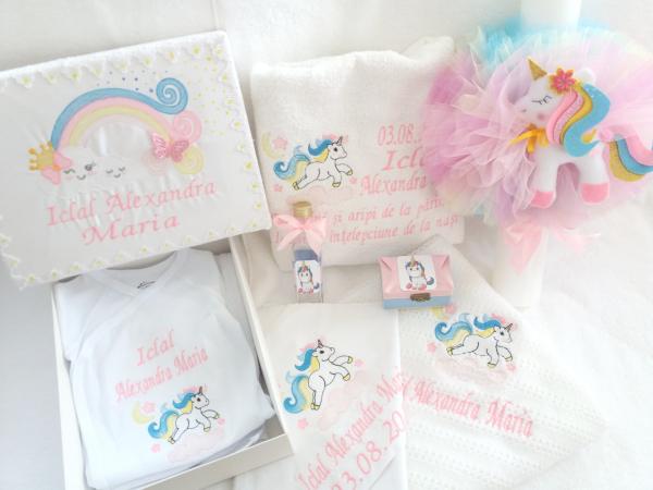 Trusou botez personalizat Unicorn [0]
