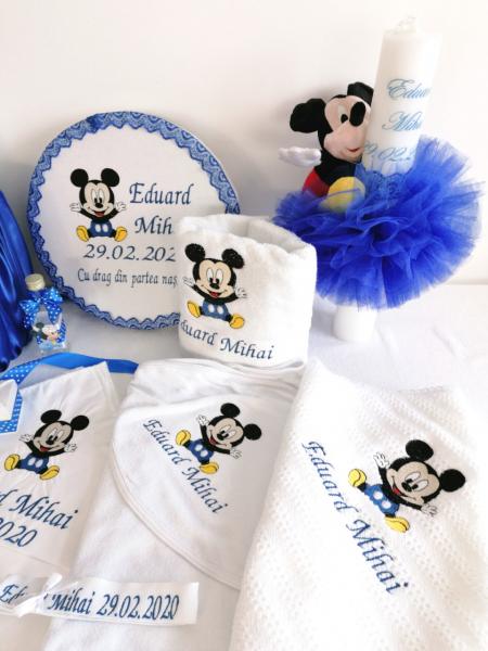 Trusou botez personalizat, complet Mickey [1]