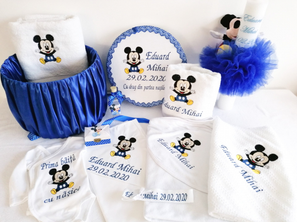 Trusou botez personalizat, complet Mickey [0]