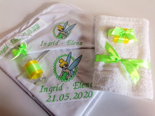 Trusou botez personalizat 6 piese Tinker Bell [0]