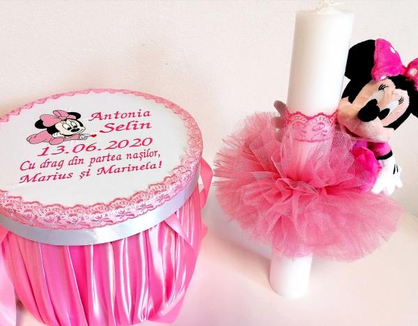 Trusou botez personalizat complet Minnie Mouse [3]