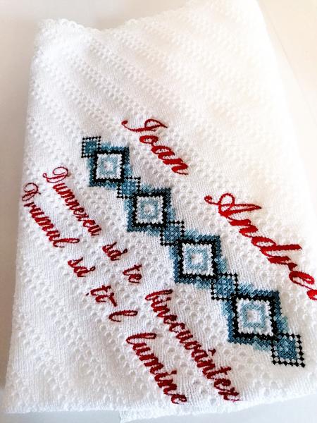 Trusou botez personalizat complet motiv traditional Oas [7]