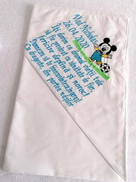 Trusou botez personalizat Mickey Mouse [4]