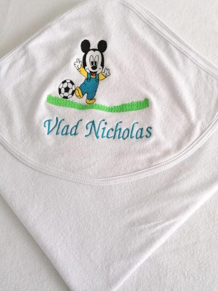 Trusou botez personalizat Mickey Mouse [5]