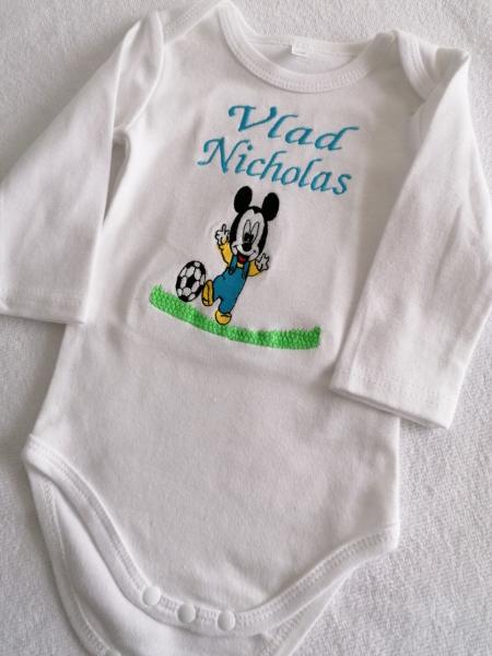 Trusou botez personalizat Mickey Mouse [6]