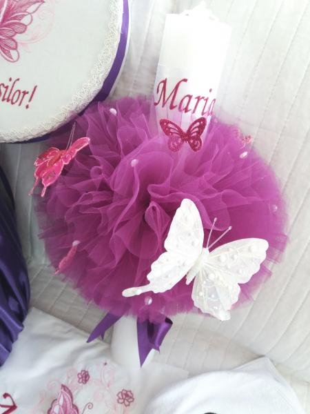 Trusou botez personalizat, Minnie Mouse violet [4]
