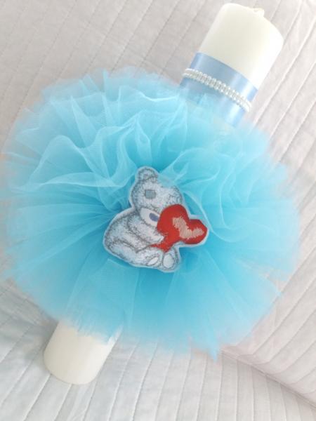 Trusou botez personalizat Bear in Love [3]