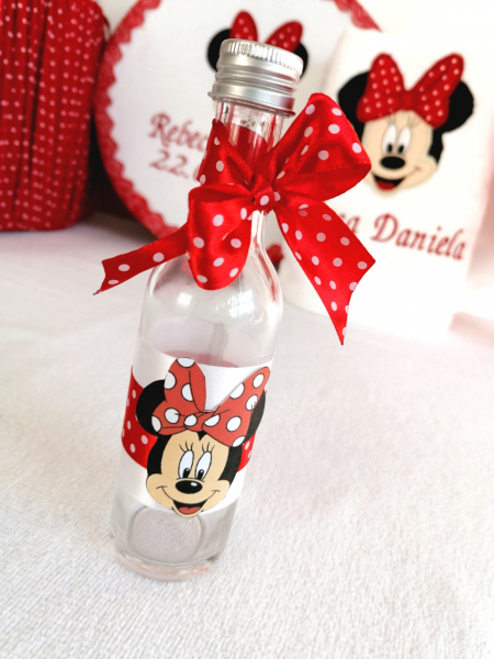 Trusou botez personalizat 6 piese Minnie Mouse [4]