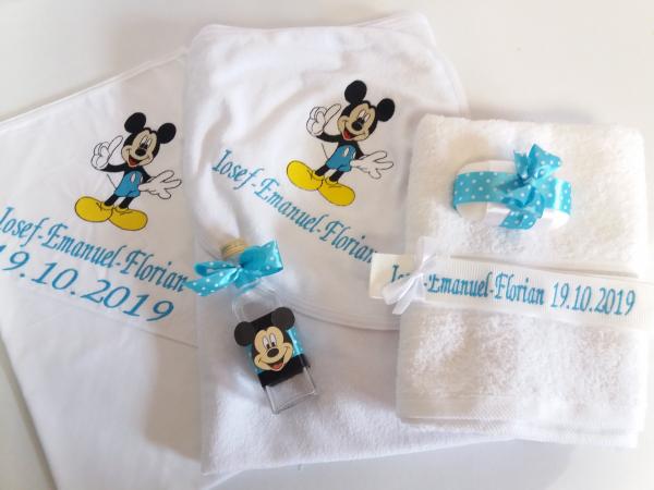 Trusou botez personalizat 6 piese Mickey Mouse [0]