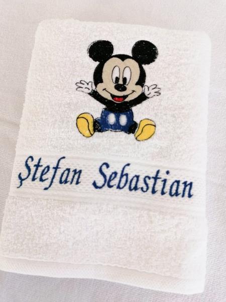 Trusou botez personalizat 9 piese Mickey Mouse [2]