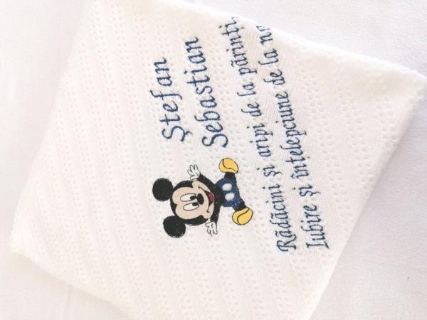 Trusou botez personalizat 9 piese Mickey Mouse [6]