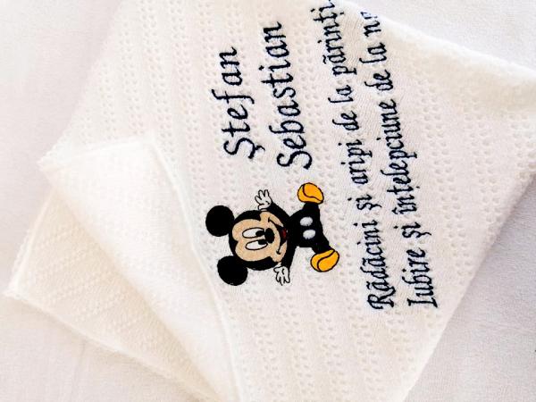 Trusou botez personalizat 9 piese Mickey Mouse [7]