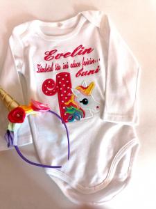 Body bebe personalizat Unicorn [1]