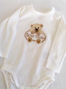 Body Bebe Personalizat Teddy [0]