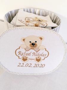 Cutie trusou botez personalizata Teddy [0]