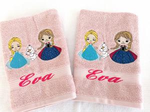 Prosop personalizat pentru gradinita Elsa si Anna [0]