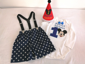 Set aniversar pentru baieti Mickey Mouse [0]