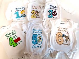 Set body-uri personalizate, pentru primele 12 luni [2]