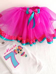 Set tutu aniversar Little Ballerina [0]