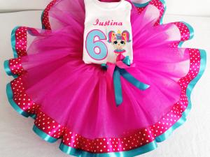 Set tutu aniversar Little Ballerina [2]