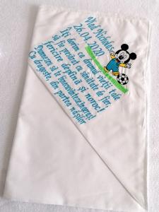Trusou botez personalizat 6 piese Mickey Mouse [1]