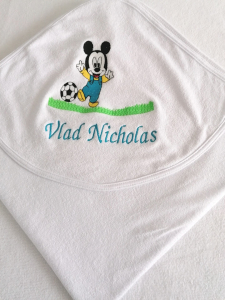 Trusou botez personalizat 6 piese Mickey Mouse [2]