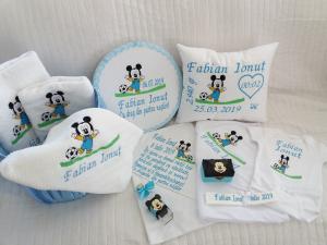 Trusou botez personalizat Mickey Mouse [1]