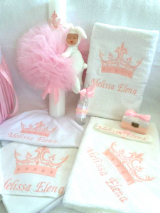 Trusou botez personalizat Princess [1]
