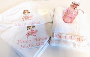 Trusou botez personalizat 6 piese Prety Ballerina [0]